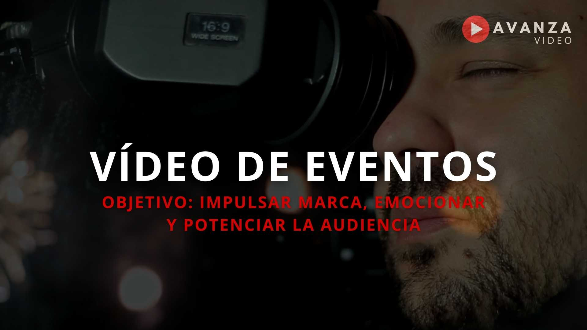Video de eventos de empresa
